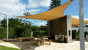 Shade sails Areas